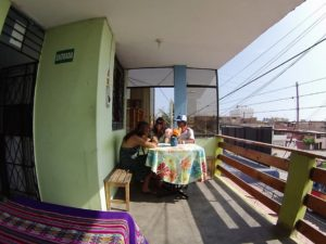 Indigan Surf Hostel Terrace