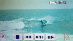 Personal surf coaching video replay Urcia Surf School