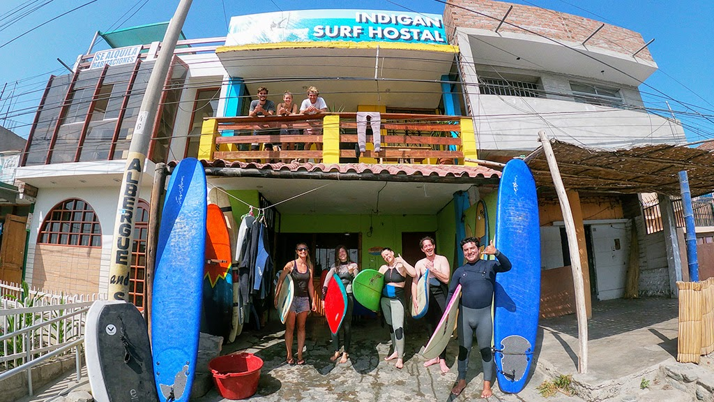 Indigan Surf Hostel Huanchaco - Surf Camp