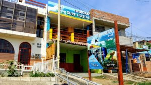Indigan Surf Hostel Huanchaco - Street View