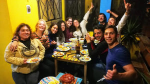 Indigan Surf Hostel Huanchaco - Dinner Party
