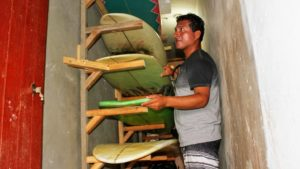 Indigan Surf Hostel Huanchaco - Surf Board Storage