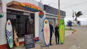 Urcia Surf School Huanchaco - Entrance