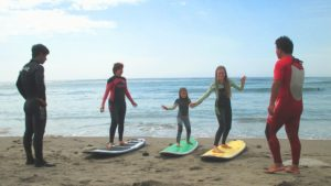 Urcia Surf School Huanchaco - Surf Stance Dry Training