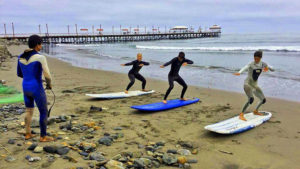 Urcia Surf School Huanchaco - Surf Dry Training on the Beach
