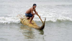 Urcia Surf School Huanchaco - Caballito de Totora (Reed Boat) Surfing