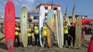 Urcia Surf School Huanchaco - Surf Camp Group Photo
