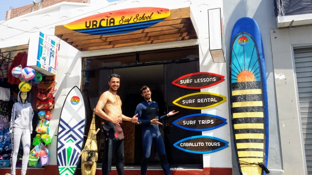 Urcia Surf School Huanchaco - Surf Lesson