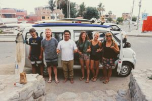Indigan Surf Hostel Trips - Going to Chicama Longest Left Wave